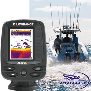 Эхолот Lowrance X67C
