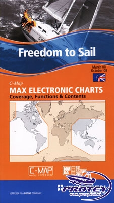 Карта MAX C-Map NT (Средиземное и Черное море)