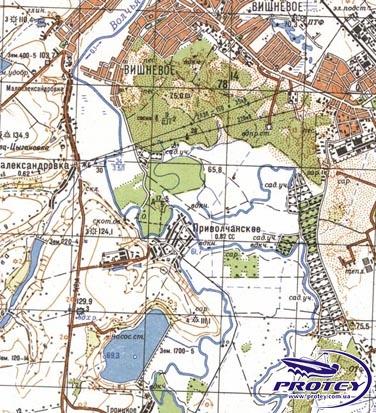 Magellan Генштаб.Карта Украины 1:100000
