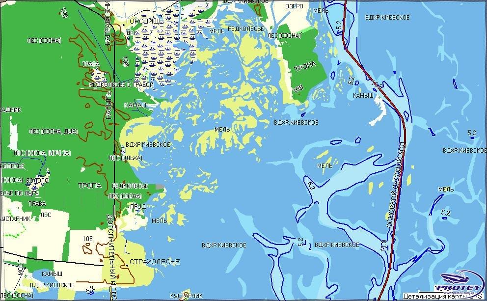 Навигационные Речные Карты Реки Дунай