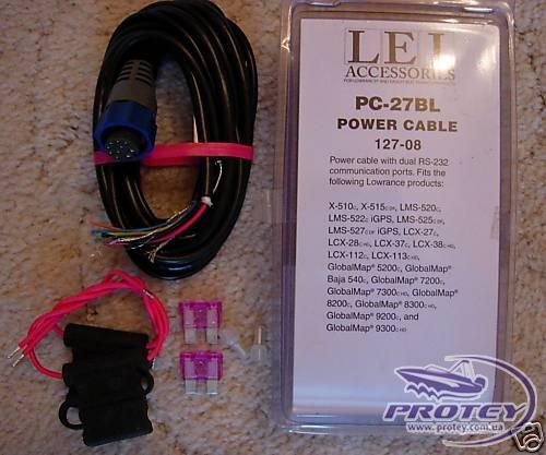 LOWRANCE PC-27BL/ 26BL