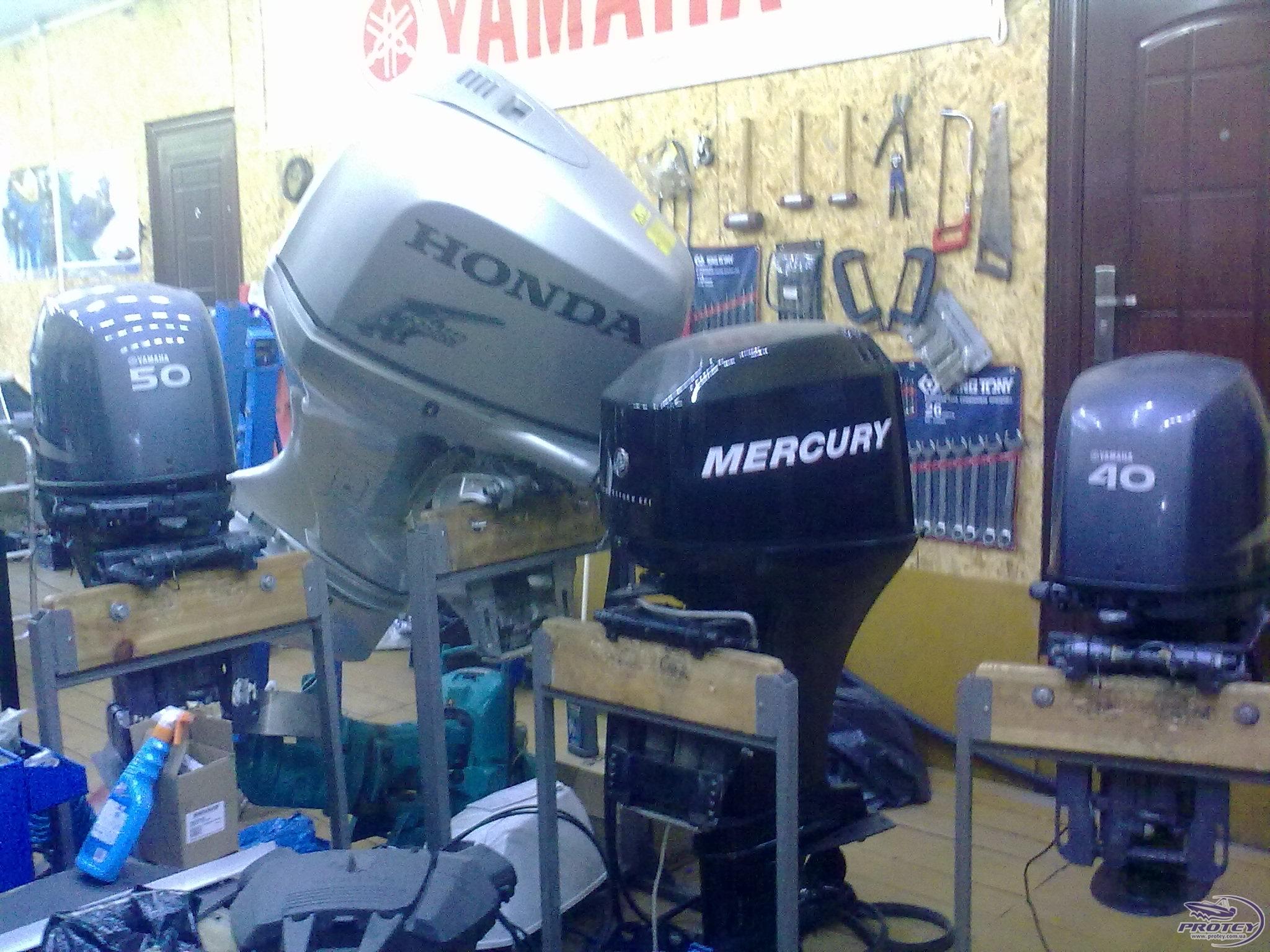 сервис подвесного лодочного мотора