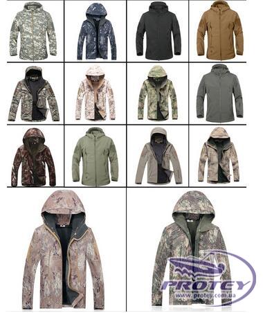Куртки тактические, Soft Shell, Shark Skin